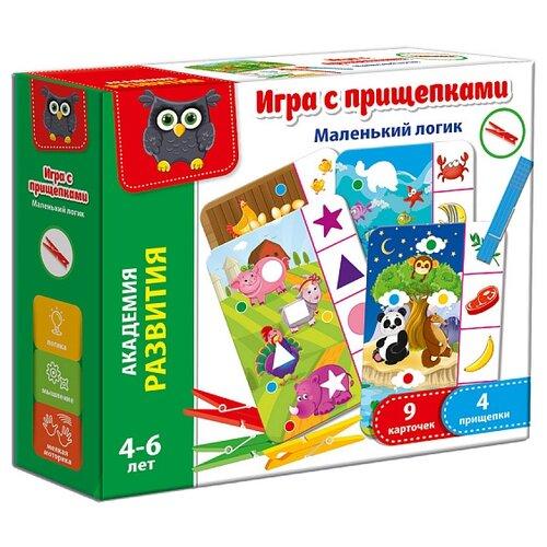 Настольная игра Vladi Toys Маленький логик VT5303-03 обучающая игра vladi toys мой маленький мир зоопарк