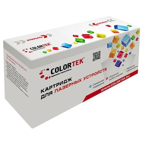 Фото - Картридж Colortek C-CE505X, совместимый картридж colortek c mlt d104s совместимый