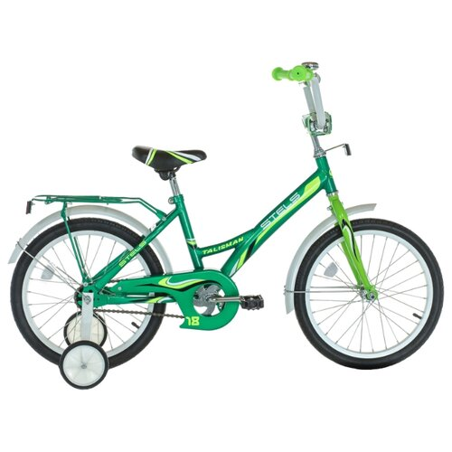 Фото - Детский велосипед STELS Talisman 18 Z010 (2018) зеленый 12 (требует финальной сборки) городской велосипед stels navigator 300 lady 28 z010 2018 фиолетовый 20 требует финальной сборки