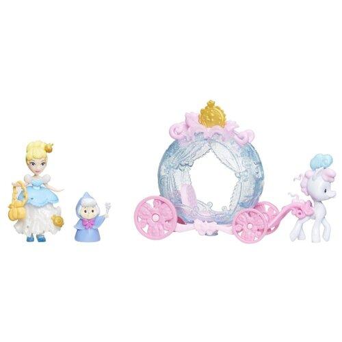 Набор Hasbro Disney Princess Маленькое королевство Золушка Сцена из фильма, E2221 hasbro disney princess e4020 e4158 кукла золушка