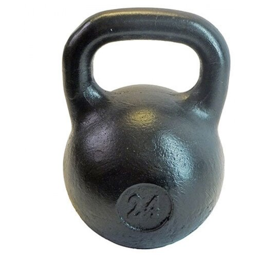 Гиря цельнолитая TITAN любительская 24 кг