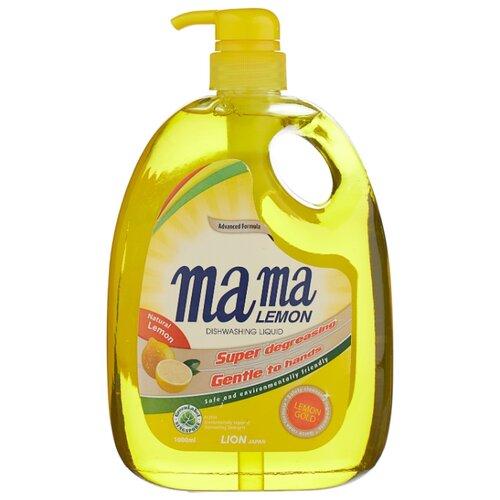 Mama Lemon Жидкость для мытья посуды Lemon gold 1 л с дозаторомДля мытья посуды<br>