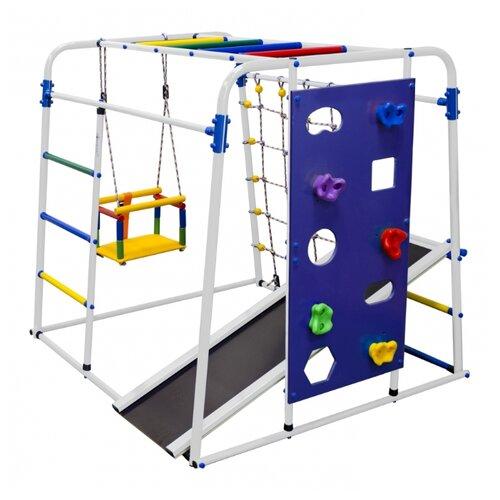 Купить Спортивно-игровой комплекс Формула здоровья Start baby 2 Плюс, белый/радуга, Игровые и спортивные комплексы и горки