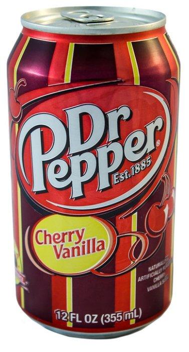 Pepper Газированный напиток Dr. Pepper Cherry Vanilla, США