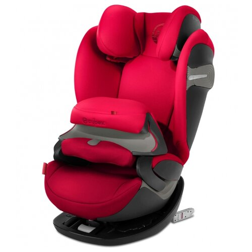 Автокресло группа 1/2/3 (9-36 кг) Cybex Pallas S-Fix, Rebel red, Автокресла  - купить со скидкой
