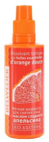 Belweder Мягкая жидкость для снятия лака с маслом сладкого апельсина