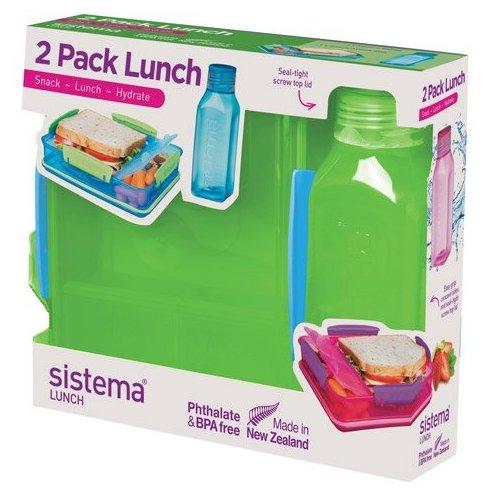 Sistema Набор для ланча Lunch 1597 зеленый