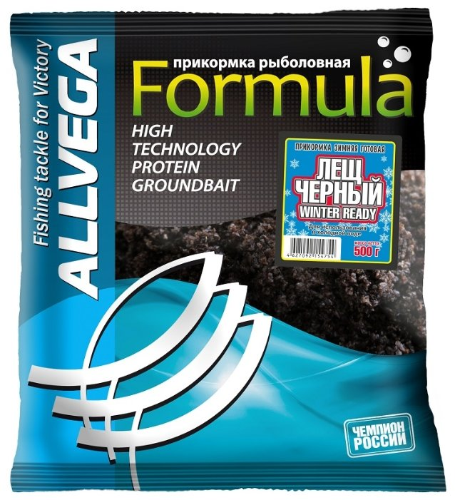 ALLVEGA Formula Winter Ready Лещ Черный