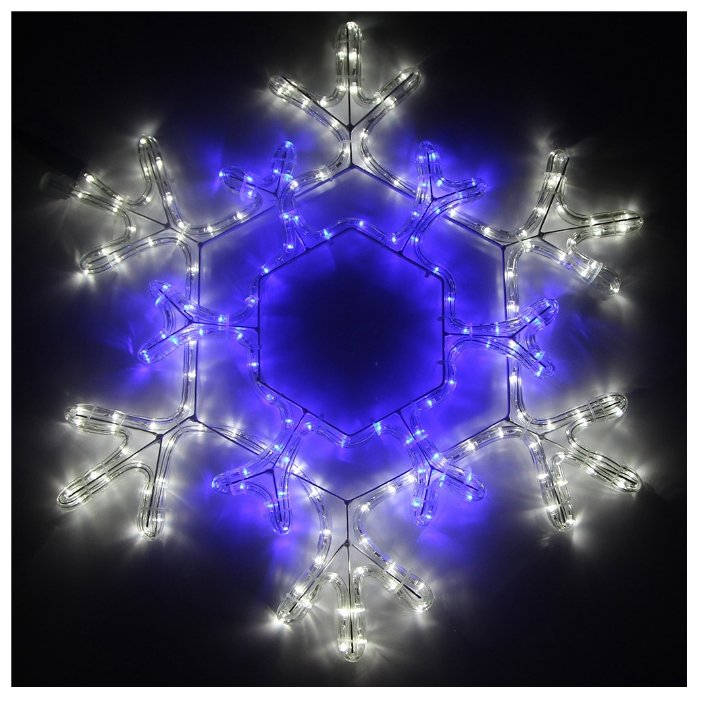 Фигура Sh Lights Снежинка декоративная RL270-SF-B/W