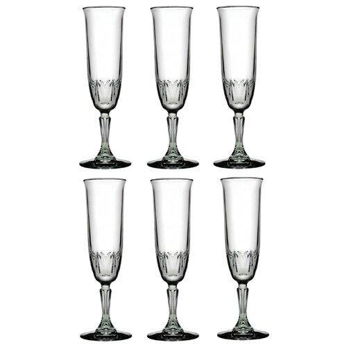 Pasabahce Набор бокалов для шампанского Karat 163 мл 6 шт прозрачный