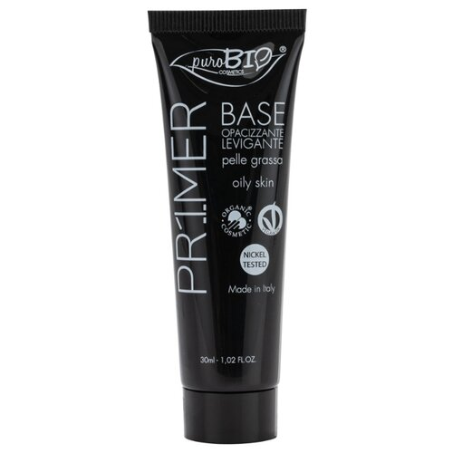 PuroBIO праймер для лица для жирной кожи Oily Skin Primer 30 мл бежевыйОснова и фиксаторы для макияжа<br>
