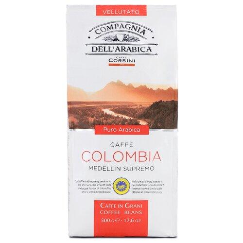Кофе в зернах Compagnia Dell` Arabica Colombia Medellin Supremo, арабика, 1 кг кофе в зернах italcaffe espresso 100% arabica 1 кг