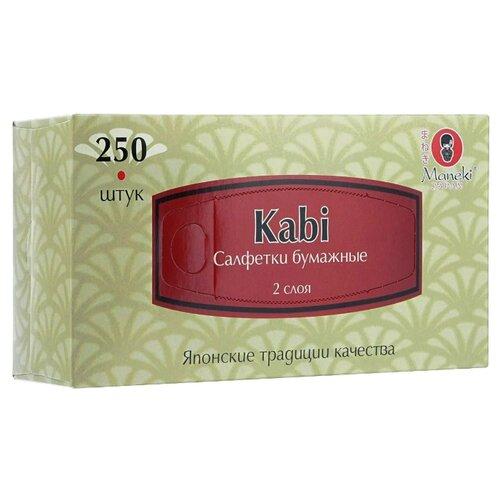 Салфетки Maneki Kabi 21 х 20 см, 250 шт.