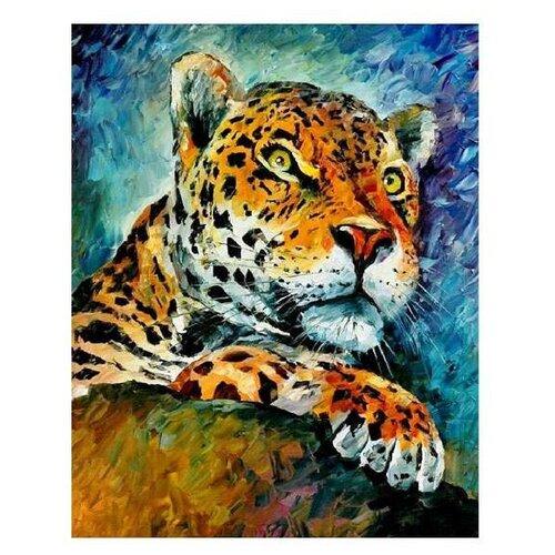 Molly Картина по номерам Леопард 40х50 см (GXT7434)Картины по номерам и контурам<br>