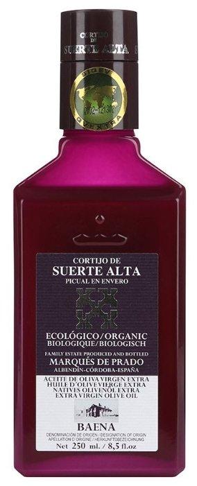 CORTIJO DE SUERTE ALTA Масло оливковое Пикуаль Extra Virgin, стеклянная бутылка