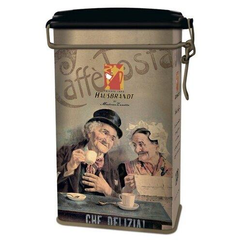 Кофе молотый Hausbrandt Nero в подарочной упаковке Anniversario, 250 г hausbrandt кофе в зернах академия 0 5 кг вакуумная упаковка 537 hausbrandt