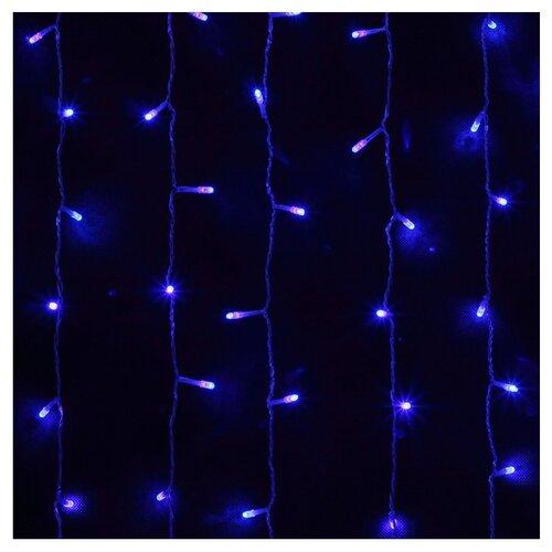 Гирлянда Sh Lights Занавес 150 х 150 см LDCL368, 368 ламп, синие диоды/прозрачный провод