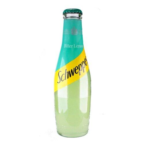 Газированный напиток Schweppes Bitter Lemon, 0.2 л schweppes индиан тоник напиток сильногазированный 1 5 л