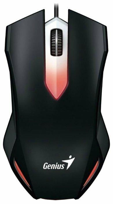 Мышь Genius X-G200 Black USB