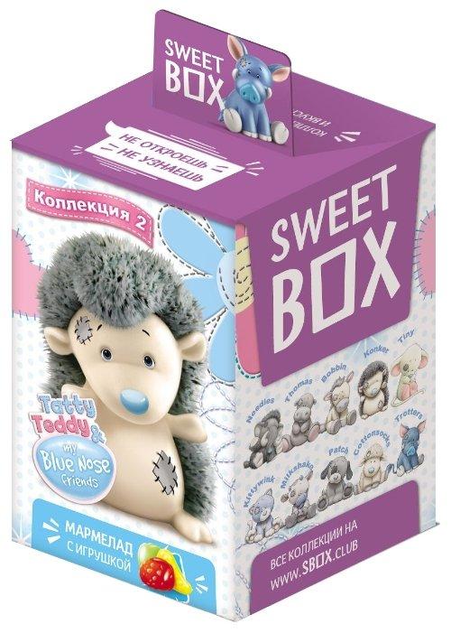 Мармелад жевательный Sweet Box Зверята с игрушкой в коробочке, 10 г.