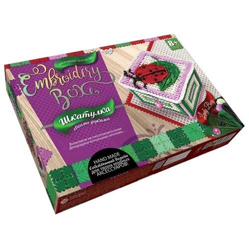 Купить Danko Toys Набор для вышивания Embroidery Box Шкатулка Набор 6 (EMB-01-06), Наборы для вышивания