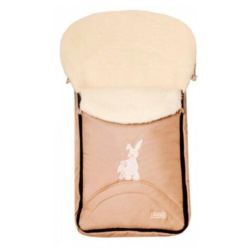 Купить Конверт-мешок Womar North pole в коляску 95 см 1/1 бежевый, Конверты и спальные мешки