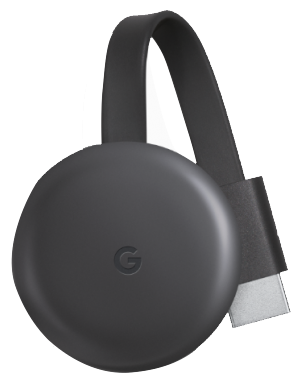 Медиаплеер Google Chromecast 2018 (Black)