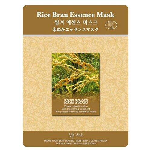 MIJIN Cosmetics тканевая маска Rice Bran Essence с рисовыми отрубями, 23 гМаски<br>