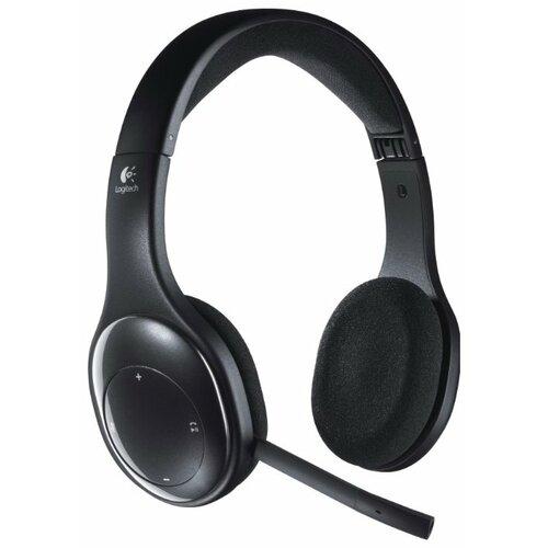 Компьютерная гарнитура Logitech Wireless Headset H800 черный цена 2017