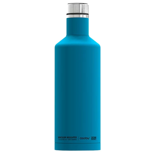 Термобутылка Asobu Times square travel bottle, 0.45 л blue