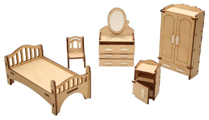 Сборная модель ХэппиДом Спальня (HK-M001),,