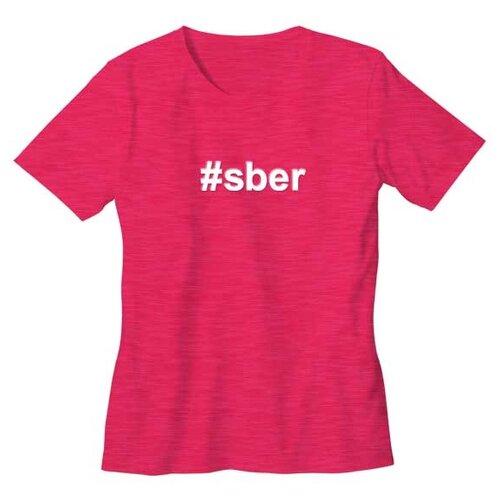 Футболка детская #sber размер 116/32, розоваяОдежда и аксессуары<br>