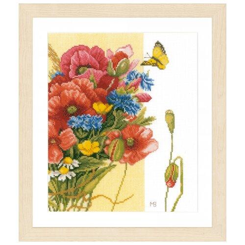 Купить Lanarte Набор для вышивания Poppies (Маки) 24 х 29 см (PN-0144568), Наборы для вышивания