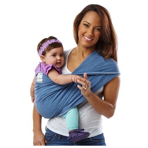 Купить Слинг-карман Baby K'tan Original denim XL, Слинги и накидки для кормления