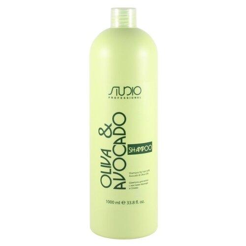 Kapous Professional шампунь Studio Professional Oliva & Avocado, 1 л