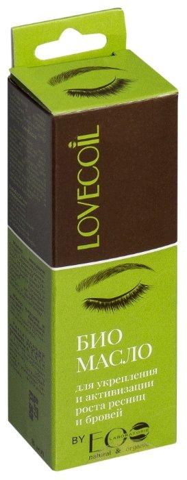 LovECoil Био масло для укрепления и активизации роста ресниц и бровей