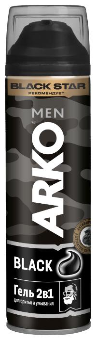 Гель для бритья и умывания Black 2 в 1 Arko