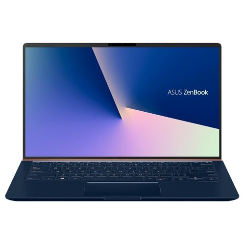 Фото - Ноутбук ASUS ZenBook 14 UX433FLC-A5230T (Intel Core i5 10210U 1600MHz/14/1920x1080/8GB/512GB SSD/DVD нет/NVIDIA GeForce MX250 2GB/Wi-Fi/Bluetooth/Windows 10 Home) 90NB0MP5-M07340 синий ноутбук asus zenbook ux333fn a3110t core i7 8565u 8gb ssd512gb nvidia geforce mx150 2gb 13 3 fhd 1920x1080 windows 10 silver wifi bt cam bag