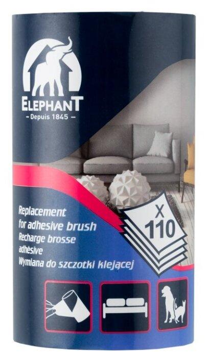 Elephant запасной блок клеящийся к ролику для одежды 110 листов