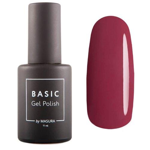 Фото - Гель-лак для ногтей Masura Basic, 11 мл, оттенок Сладкие Губки гель лак masura basic 35 мл оттенок черный кобальт