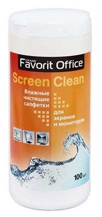 Favorit Office Screen Clean F130001 влажные салфетки 100 шт. для экрана