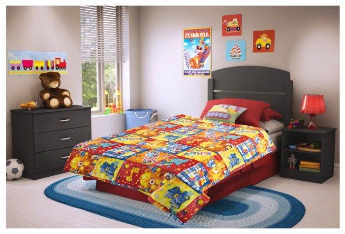 Плед детский texREPUBLIC, Пэчворк, 110*140 см, разноцветный 88017