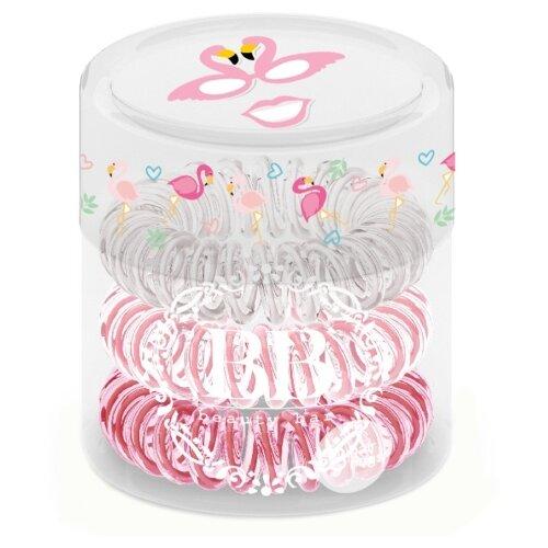 Резинка Beauty Bar браслет 3 шт. фламингоРезинки, ободки, повязки<br>