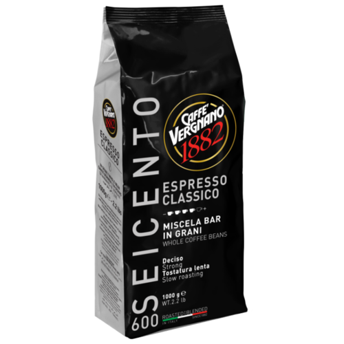 Фото - Кофе в зернах Caffe Vergnano 1882 Espresso Classico, 1 кг кофе молотый caffe vergnano 1882 espresso casa 250 г