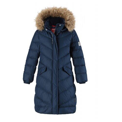 Купить Пуховик Reima Satu 531352 размер 158, сапфирово-синий, Куртки и пуховики