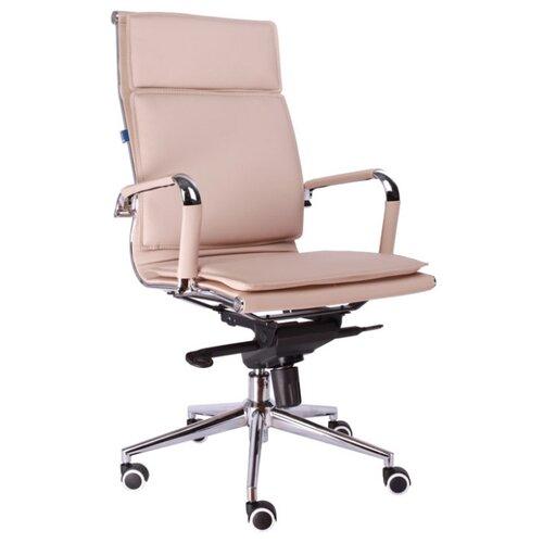 Компьютерное кресло Everprof Nerey M для руководителя, обивка: искусственная кожа, цвет: бежевый