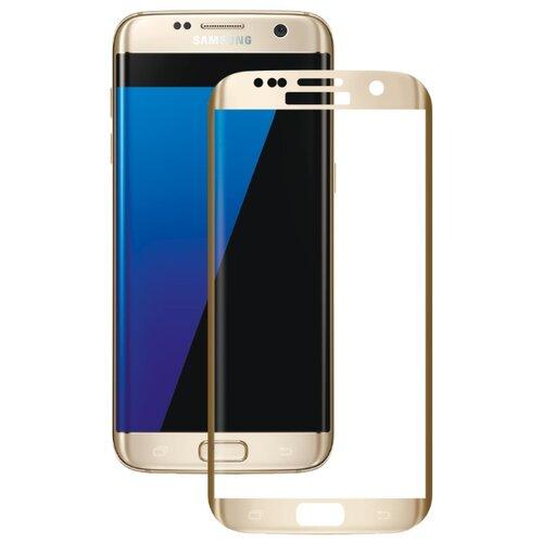 Защитное стекло CaseGuru 3D для Samsung Galaxy S7 Edge gold