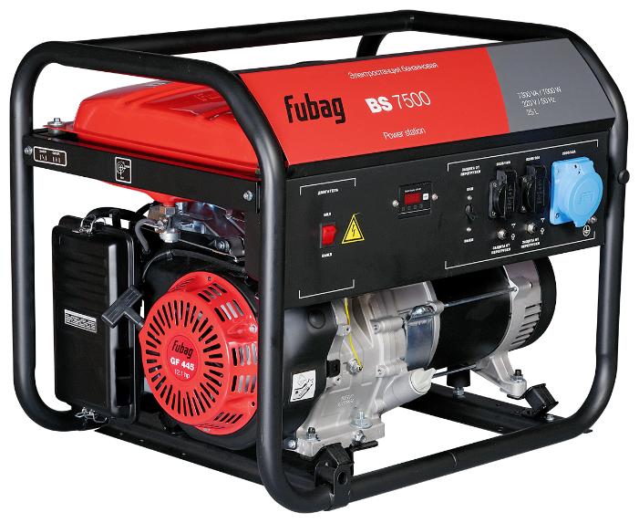 Бензиновый генератор Fubag BS 7500 (7000 Вт)