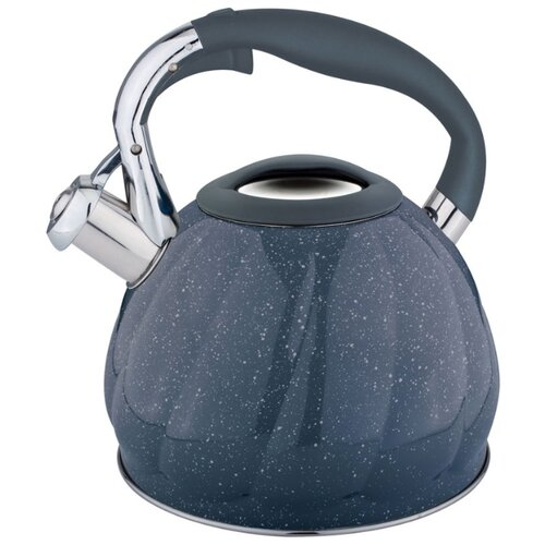 Rainstahl Чайник 7645-30RS\WK 3 л, черный rainstahl чайник 7625 30rs wk 3 л стальной черный