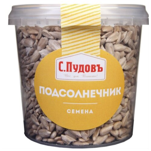 Семена подсолнечника С.Пудовъ очищенные 170 г